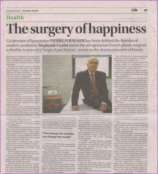 French surgeon Pierre Fournier